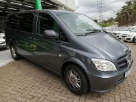 Used Mercedes-Benz Vito 116 CDI crewbus Shuttle auto for sale in Pinetown, KwaZulu-Natal